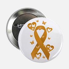 """Orange Awareness Ribbon 2.25"""" Button (10 pack)"""