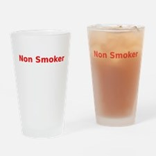 Non Smoker Drinking Glass