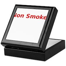 Non Smoker Keepsake Box