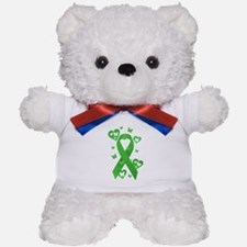 Green Awareness Ribbon Teddy Bear