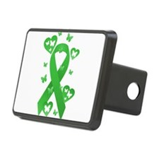 Green Awareness Ribbon Hitch Cover