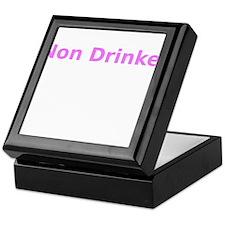 Non Drinker Keepsake Box