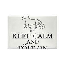 Keep Calm and Tolt On Rectangle Magnet