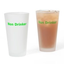 Non Drinker Drinking Glass