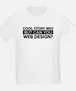 Web Design job gifts T-Shirt