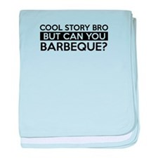 Barbeque job gifts baby blanket