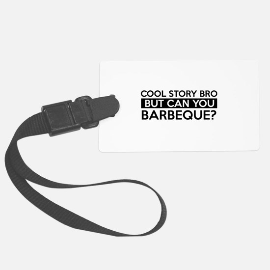 Barbeque job gifts Luggage Tag