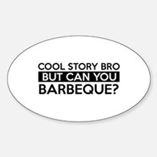 Barbeque job gifts Decal
