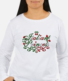 Long Sleeve Italian Princess Women's T-Shirt
