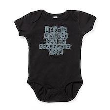 i dont sparkle Baby Bodysuit
