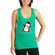Hey Penguin! Racerback Tank Top