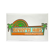 Funny Beverly hills california Rectangle Magnet
