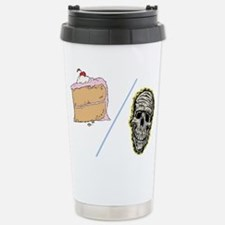 Cake or Death Stainless Steel Travel Mug