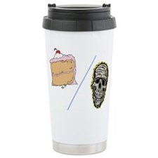 Cake or Death Travel Mug