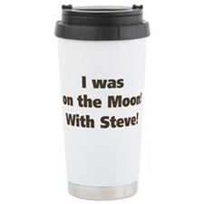 on the moon Travel Mug