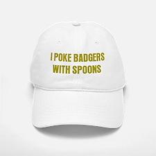 Poke Badgers Baseball Baseball Cap