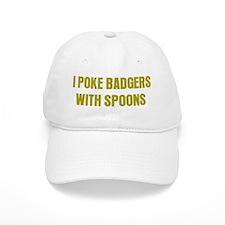 Poke Badgers Baseball Cap