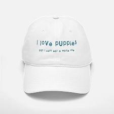 I love puppies Baseball Baseball Cap