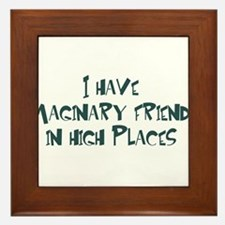 imaginary friends Framed Tile
