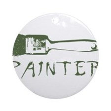 painter Ornament (Round)