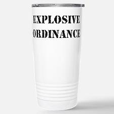EXPLOSIVE ORDINANCE Stainless Steel Travel Mug