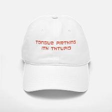 tongue pirthing Baseball Baseball Cap