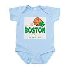 Future Boston Fan like Daddy Baby Body Suit