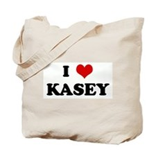 I Love KASEY Tote Bag