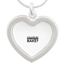Wake job gifts Silver Heart Necklace