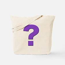 Question mark, purple, t shirts, mugs,gifts Tote B