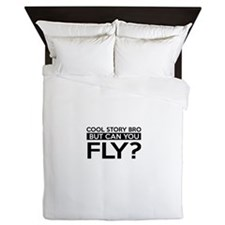 Fly job gifts Queen Duvet