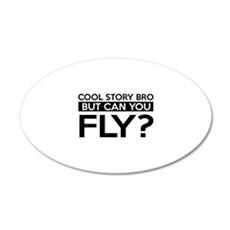 Fly job gifts Wall Decal