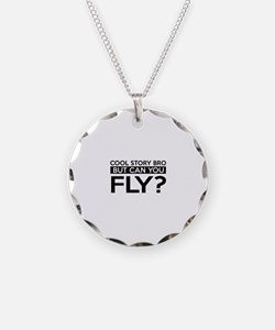 Fly job gifts Necklace