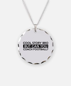 Coach Football job gifts Necklace