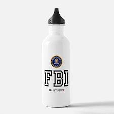 FBI - REALLY SUCKS! Z Sports Water Bottle
