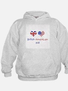 British American Kid Hoodie