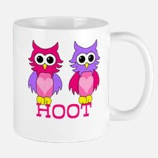 two owls hoot Mug