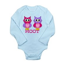 two owls hoot Body Suit