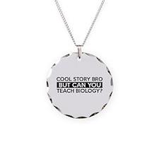 Teach Biology job gifts Necklace