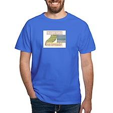grey nomad downunder funny T-Shirt
