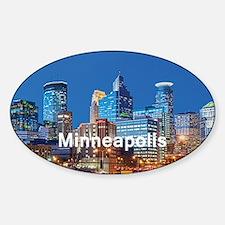 Minneapolis Sticker (Oval)