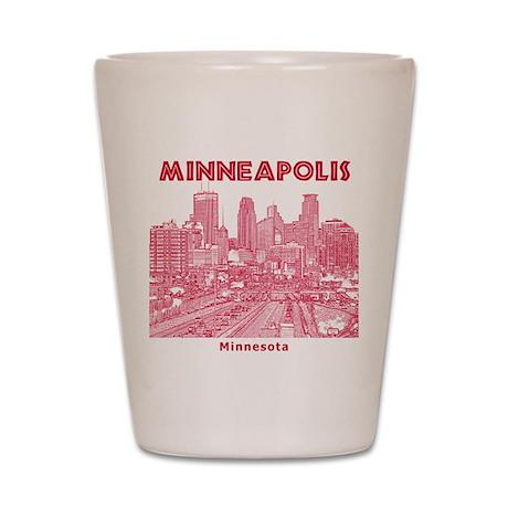 Minneapolis Shot Glass