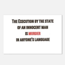 Execution Postcards (Package of 8)