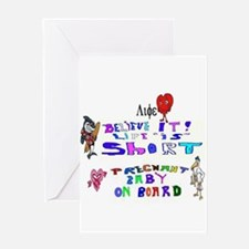Baby On Board Life Greeting Card