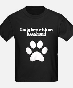 Im In Love With My Keeshond T-Shirt