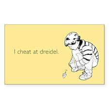 Cheat at Dreidel Sticker