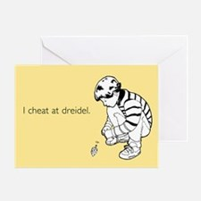 Cheat at Dreidel Greeting Card