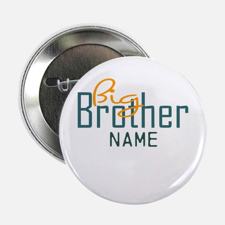 "Personalized Add Name Big Brother Print 2.25"" Butt"