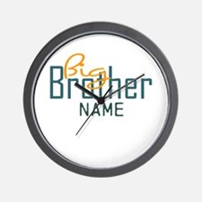 Personalized Add Name Big Brother Print Wall Clock