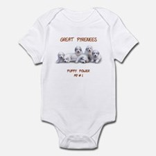 Great Pyrenees Onesie, Puppy Power